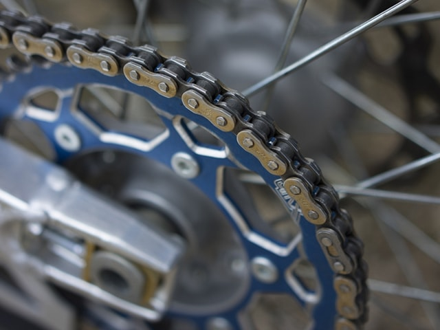 stainless steel bike chain