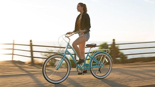 riding Cruiser bikes on trails
